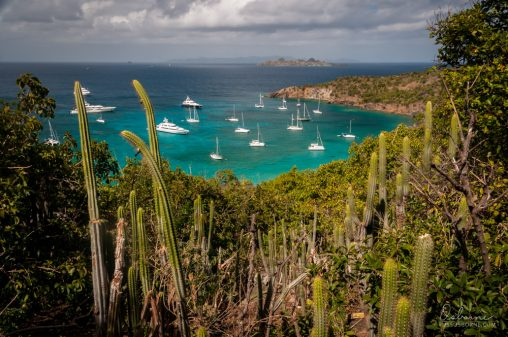 Colombier is a great anchorage that's a bit more peaceful than being right in Gustavia